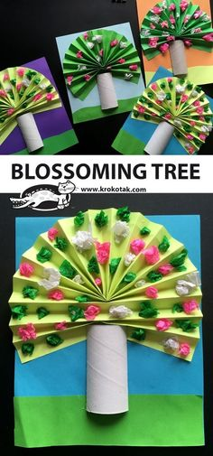 Blossoming Tree Best Picture For Spring Crafts For Kids ideas For Your Taste You are looking for something, and it is going to tell you. Kids Crafts, Spring Crafts For Kids, Crafts For Kids To Make, Tree Crafts, Summer Crafts, Toddler Crafts, Fall Crafts, Art For Kids, Diy And Crafts