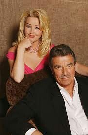 Nikki Reed Newman & Victor Newman played by Melody Scott Thomas & Eric Braeden Bold And The Beautiful, Beautiful People, Eric Braeden, Soap Opera Stars, Soap Stars, Scott Thomas, Famous Couples, Young And The Restless, Days Of Our Lives