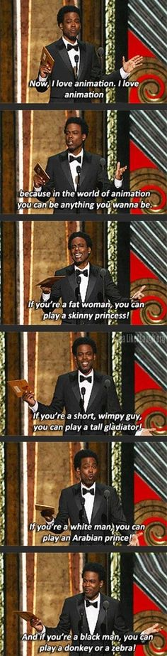 Chris Rock on animation