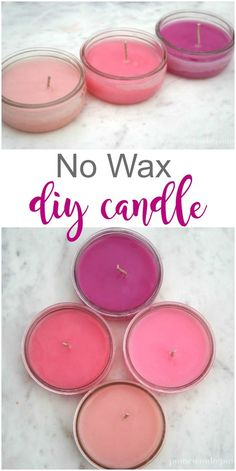 No Wax DIY Candle vi