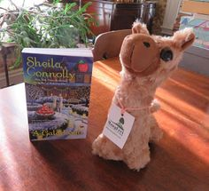MysteryLoversKitchen.com book #giveaway plus cute alpaca stuffed toy from author @SheilaConnolly A GALA EVENT. Go to the blog to enter!