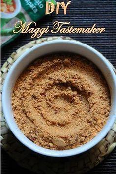 Maggi Tastemaker Recipe - How to Make Maggi Seasoning Powder - Yummy Tummy Maggi Recipes, Veg Recipes, Indian Food Recipes, Cooking Recipes, Recipies, Smoker Recipes, Chinese Recipes, Milk Recipes, Asian Recipes