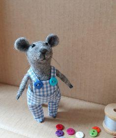 Little felted mouse от MouseLand на Etsy