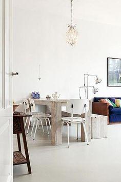 De Revolt stoel v. Friso Kramer is ook een absolute klassieker! Stoer, comfortabel en verkrijgbaar in 3 kleuren. Ook mooi met andere modellen. #Revolt #FrisoKramer #loft76 #Kleureninterieurshop