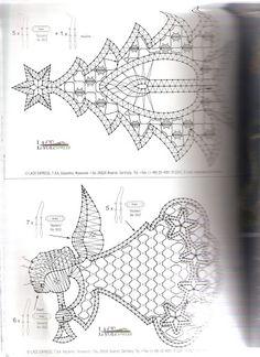 Diypatterntutorialkursy Krok Po Krokurekodzielohandmadezrob To Hairpin Lace Crochet, Crochet Edgings, Crochet Motif, Crochet Shawl, Ornament Pattern, Bobbin Lace Patterns, Loom Patterns, Bobbin Lacemaking, Crochet Snowflakes