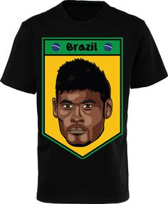 Neymar Football Shirts & Kit Neymar jersey Brazil 2014. If you are fan neymar, GET IT NOW.