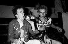 The Clash - Topper Headon and Paul Simonon