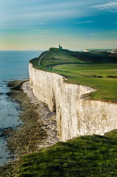 Beachy Head, East Sussex, England #yoga #findyouryoga www.yogatraveltree.com