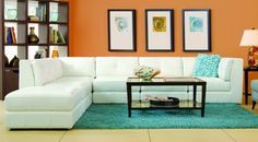 Penthouse Leather Sectional GP:L085