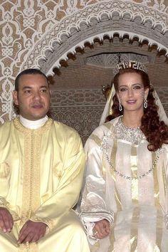 JULY 2002 – King Mohammed VI of Morocco marries Salma Bennai in Rabat, Morocco.