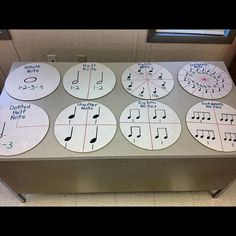 Great way to show how rhythm works and how to connect it to fractions - musical math Music Math, Preschool Music, Music Activities, Music Classroom, Cc Music, Music Lesson Plans, Music Lessons, Music Worksheets, Music School