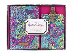 Lilly Pulitzer Luggage Tag and Passport Holder -- Review more details here : Travel accessories