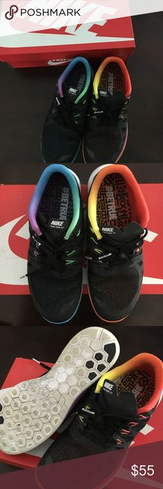 62e1668d4212 NIKE Free  BETRUE Rainbow Pride Sneakers NIKE Free 5.0 BT QS is the  description on