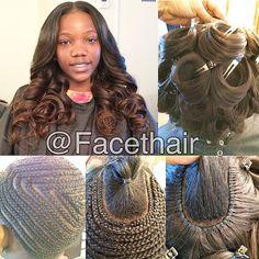 """3 24"" bundles of @kendrasboutique hair"" Photo taken by @facethair on Instagram, pinned via the InstaPin iOS App! http://www.instapinapp.com (01/17/2015)"