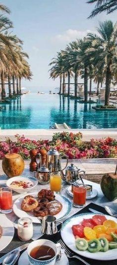 Tropical, Island Resort, Bora Bora, Summer Of Love, Seychelles, Paradise, Table Settings, Vacation, Table Decorations