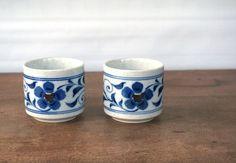 Vintage Japanese Teacups Set of 2