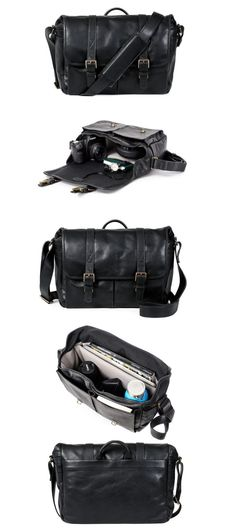 e63c150901 ONA - The Brixton - Camera Messenger Bag - Black Leather  vintage  classic   travel  camerabag  messengerbag  fashion  retro  leica  fujifilm  dslr ...