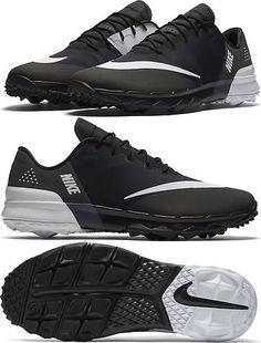 e0a9d85f00add Golf Shoes 181136  2017 Nike Fi Flex Golf Shoes Mens Medium 849960-001 Black  White -  BUY IT NOW ONLY   84.99 on eBay!