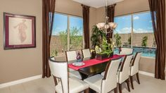 A dining room for Thanksgiving dinner | New homes by Taylor Morrison
