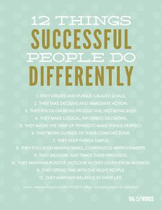 DO DIFFERENTLY