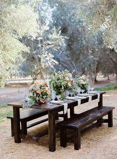 Olive grove wedding inspiration