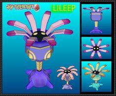Pokemon - Lileep Ver.2 Free Papercraft Download - http://www.papercraftsquare.com/pokemon-lileep-ver-2-free-papercraft-download.html