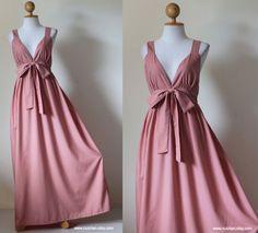 Maxi Dress Bridesmaid  Elegant Cocktail Summer Evening Long Dress : Love Party Collection. $59.00, via Etsy.