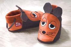 Lederpuschen Maus