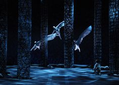 John Caird's production of Wagner's Parsifal for Chicago Lyric Opera. Set designs by Johan Engels.