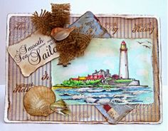 Dream Laine: Another Spectrum Noir Pencil Sample featuring Sea Scapes - Sheena Douglass Spectrum Noir Pencils, Spectrum Noir Markers, Noir Color, Sheena Douglass, Colored Pencil Tutorial, Crafters Companion, Card Making Inspiration, Printable Cards, Crafty Projects