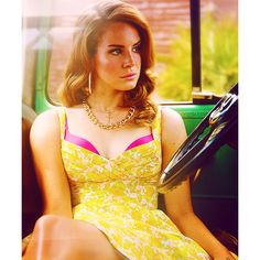 An image of Lana Del Rey ❤ liked on Polyvore