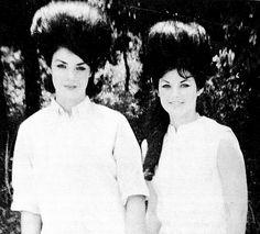 Elvis Presley's first cousin, Patsy Presley Geranen and Priscilla Beaulieu (Presley). S)
