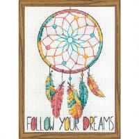 Dimensions® Dreamcatcher Counted Cross-Stitch Kit
