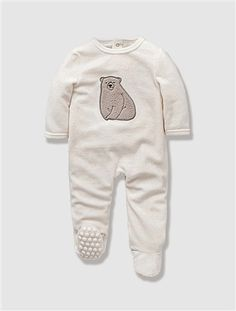 Pyjama bébé velours