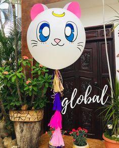 Empezamos la semana co Happy Birthday Parties, 20th Birthday, Baby Birthday, Birthday Ideas, Sailor Moon Birthday, Sailor Moon Party, Sleepover Party, Baby Party, Luna Y Artemis