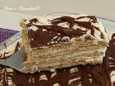 Torta Biscotto Mascarpone e Nutella (senza forno) Link ricetta --> http://blog.giallozafferano.it/ricettepanedolci/torta-biscotto-mascarpone-e-nutella-senza-forno/