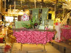 Indulge in our bath and body products gift basket and give a loved one a spa day at their very own home!