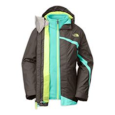 The North Face Girls' 2014 Mountain View Triclimate Jacket