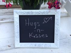 Chalkboard Shabby Chic Chalkboard Wedding by WhimsicalLoveBirds, $14.95