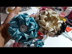 FLOR ORIGAMI - PASSO A PASSO - YouTube