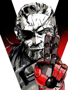 "Pushnisher ""Venom"" Snake Metal Gear Solid V:The Phantom Pain"