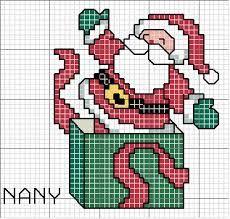Resultado de imagem para ponto cruz graficos natalinos