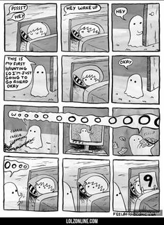 His First Haunting #lol