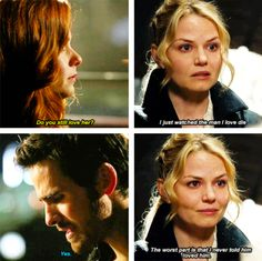 """Hook's and Emma's Love confession Parallel - 3 * 16 """"The Jolly Roger"""" & 4 * 22 """"Operation Mongoose"""""""