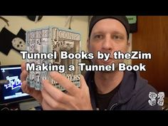 How to: Making a Tunnel book, book art, Tunnel books by theZim BTS Kirigami, Tunnel Book Tutorial, Paper Pop, Cut Paper, Book Sculpture, Paper Sculptures, Altered Book Art, Book Folding Patterns, Mom Cards
