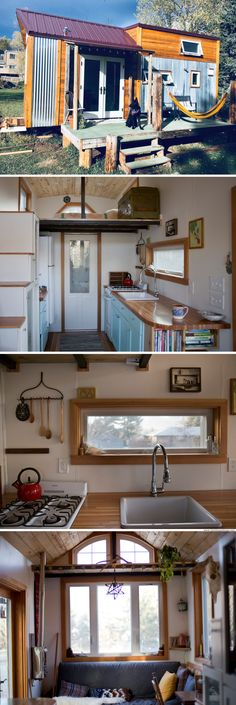The Honey House: a 240-sq-ft tiny house made form eco-friendly and reclaimed materials
