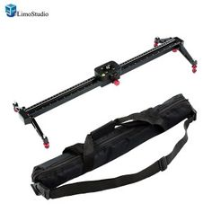 LimoStudio 24 inch/60cm Scale Video Stabilization System DSLR Camera Compact Dolly Track Slider , AGG1565
