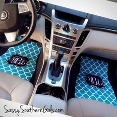 Monogrammed Car Mats / Personalized Car Mats · Sassy Southern Gals Boutique · Online Store Powered by Storenvy