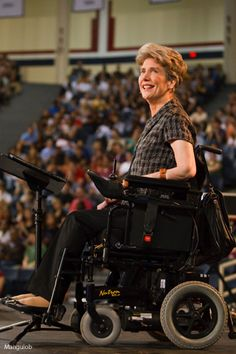 Joni Eareckson Tada delivers inspiring message | Liberty University