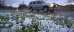 Houston & South-eastern Texas battered with Thunderstorm: Havoc Thunderstorm Clouds, Thunderstorms, Types Of Precipitation, Hail Storm, Water Droplets, Going Home, Trees To Plant, Plants, Houston Tx